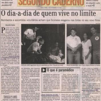 Segundo Caderno - 08 de fevereiro de 2000