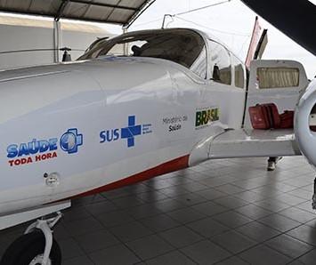 SAMU Aéreo vai trazer pacientes graves do interior para capital