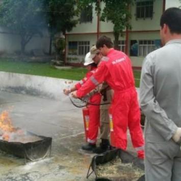 SUBSEA 7 - Combate a Incêndios